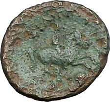Philip II Alexander the Great Dad OLYMPIC GAMES Ancient Greek Coin Horse i49758