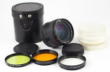 MC MIR 24N 24H F/2 35mm SLR  NIKON F LENS MINT OPTICS + FILTERS