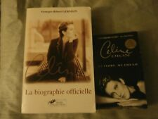 "CELINE DION ""RARE"" BOOK LA BIOGRAPHIE OFFICIELLE + MY STORY MY DREAM"