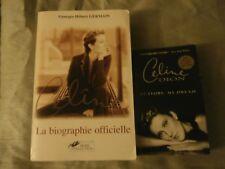 """Celine Dion """"Rare"""" Book La Biographie Officielle + My Story My Dream"""