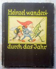 1931 german book for children ill. by Ida Bohatta-Morpurgo. Gnomes