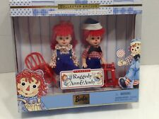 NEW!!!  Raggedy Ann & Andy Barbie Collector Edition Kelly and Tommy W/ COA