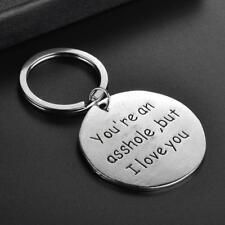 Funny Keyring Boyfriend Husband Men Birthday Keychain Gift for Him Her Novelty J
