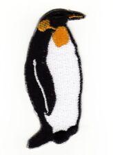 ad51 Pinguin See Vogel Tier Aufnäher Applikation Bügelbild Flicken 3,5 x 7,0 cm