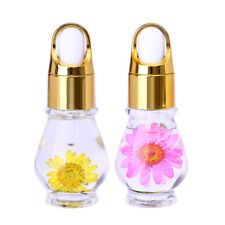 15ml Dry Flower Nutritional Cuticle Oil Fresh Flavor Nail Art Care Tool Random