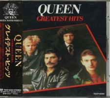 Queen Greatest Hits JAPAN CD with OBI TOCP-8284