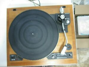 Garrard DD 75 Direct Drive Turntable record player phonograph 4  Parts or Repair