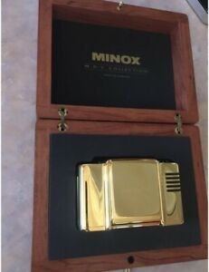 Minox M.D.C Collection 24 Karat Gold 35mm Film Camera And Case