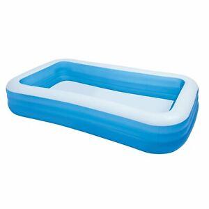 Intex 10ft x 2in Swim Center Family Backyard Inflatable Kiddie Swimming Pool