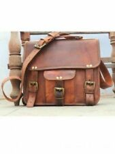 Women's leather messenger Real satchel bag genuine all size laptop  briefcase