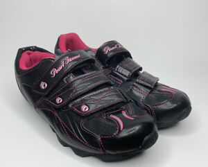 Pearl Izumi Quest All Road Cycling Shoes With Cleats Womens EUR 41 US 8 Black