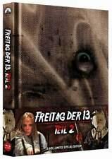 """FREITAG DER 13. Teil 2"" - Horror Slasher Kult - ltd BLU RAY Mediabook wattiert"