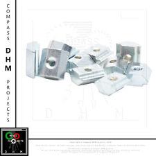 10 x Dadi di pre-montaggio Serie 5 filetto M3 profilo alluminio CNC