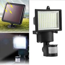 100LED Solarleuchte Solar Flutlicht Leuchte PIR Bewegungsmelder Infrarot-Sensor