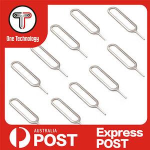 Sim Card Tray Eject Pin Key Tool for Apple iPhone, iPad, iPad Mini, Samsung