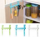 Hot Home Hanging Rack Kitchen Storage Holders Door Rack Towel Hanger Five Hooks