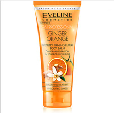 2x Eveline Spa Professional Ginger and Orange Firming Body Balm 200ml