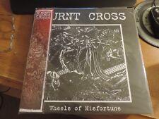 Burnt Cross ( like crass-Conflict) wheels of misfortune Vinyl LP New sleeve fold