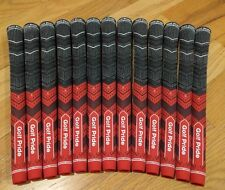 13x Golf Pride MCC Plus 4 Multicompound Golf Grips Red Midsize set