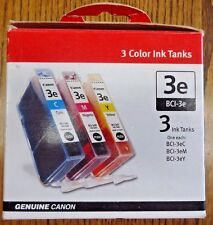 Canon BCI-3e Color Ink Tank for the BC-31e CMY InkJet Cartridge - 3 Pack *NIB