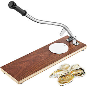 Oyster Knife Shucker Shell Seafood Opener Shucking Tool Set w/Piercing Point