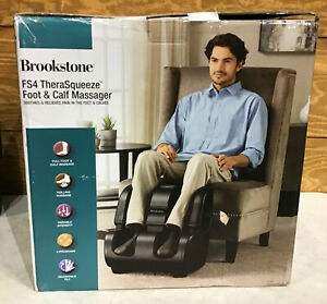 Brookstone FS4 TheraSqueeze Foot & Calf Massager