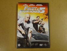 DVD / FAST & FURIOUS 5 ( VIN DIESEL, PAUL WALKER, DWAYNE JOHNSON )