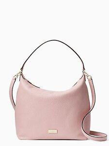 NWT Kate Spade Prospect Place Kaia Handbag in Pink Bonnet # wkru4620 $298