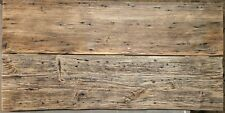 Reclaimed Barn Wood Table Top Made From Antique Rough Sawn Hemlock