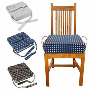 Kids Baby High Seat Increased Chair Booster Pad Toddler Dining Home Cushion Safe