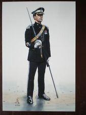 POSTCARD 17TH/21ST LANCERS REGIMENTAL SERGEANT MAJOR LANCERS 1991