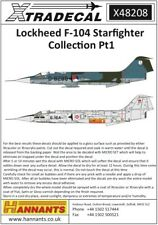Nouveau 1:48 mastercasters 48068 Lockheed F-104 Starfighter roues USAF