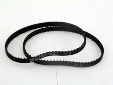 2 X 142XL037 Timing Belt 71 Teeth Cogged Black Rubber Toothed Belt