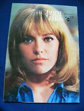 1969 Nathalie Delon cover Japan magazine La Lecbon Particuliere RARE