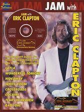 JAM avec Eric Clapton Guitar Tab Music Book & Play-Along backing tracks CD