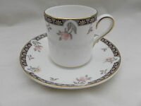 Wedgwood ISIS SMALL COFFEE CAN CUP 5.5cm x 5.5cm & SAUCER 12cm, Excellent.