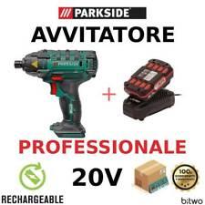 Parkside PDSSA 20-LI A1 avvitatore ad impulsi con batteria caricatore compatto