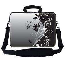 """17.3"""" 17"""" Neoprene Laptop Bag Sleeve with Pocket Shoulder Strap Handle 2252"""