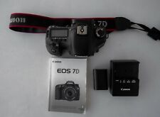 Canon Eos 7D 18.0 Mp Digital Slr Camera - Excellent Condition, Free Shipping