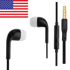 Black Earphones Headphones Volume Controls Samsung Galaxy Ace Note 2 3 S2 S3 S4