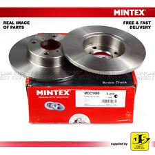 2X Mintex Avant Disque de freins MDC1490 SUZUKI WAGON R + VAUXHALL AGILA Mk I 1.0 1.2