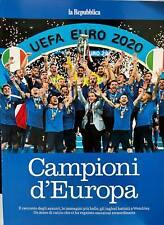Libro La Repubblica Uefa Euro 2020 Campioni D'Europa Nazionale Italiana