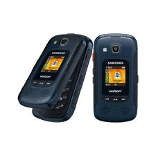 Samsung Convoy 4 SM-B690V Blue Verizon PushToTalk RUGGED Flip Phone