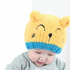 Baby  Boy Knit For Girl Winter Hat Toddler Kids Warm Beanie Cap