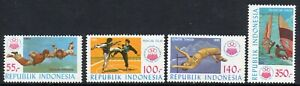 Sports - Indonesia 1985 Sports Week set fine fresh MNH