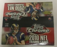 2010 Topps Chrome Football Box Factory Sealed 24 Pack FASC