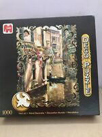 """WALL ART """"AFTERNOON CHAT"""" DECO 1000 Jigsaw Puzzle - COMPLETE"""