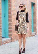 ZARA Leopard Print Dress Sleeveless Medium NWT M