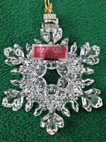 Marquis by Waterford Crystal Ornament 2009 Annual Snowflake 150242        (OM26)