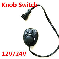 1X 12V/24V Parking Heater Controller Knob Switch For Car Track Air Diesel Heater